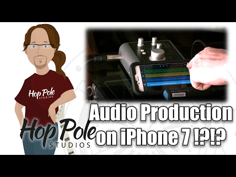 iPhone 7 in serious Audio Production? - Garageband and Rode Rec