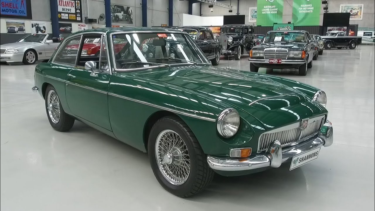1968 MG C GT Coupe - 2020 Shannons Autumn Timed Online Auction