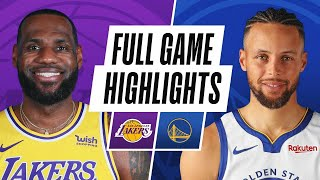 GAME RECAP: Lakers 128, Warriors 97