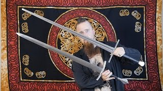 "An example of a ""true"" bastard sword / hand-and-a-half sword"