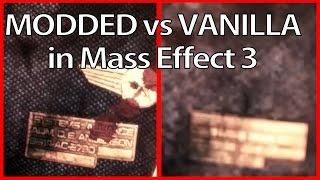 Mass Effect 3 | Modded vs Vanilla