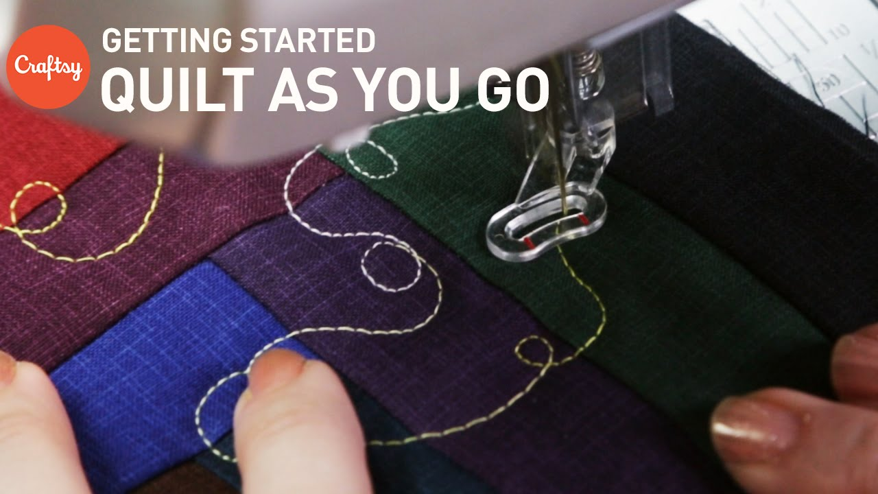 Quilt as You Go (QAYG): Tips for Getting Started   Quilting ... : cotton theory quilting video - Adamdwight.com
