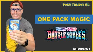 Pokémon Sword & Shield Battle Styles One Pack Magic or Not, Episode 03 #Shorts