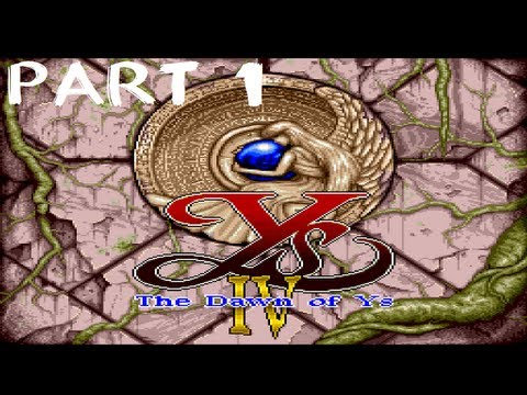 Ys 4: Dawn of Ys ENGLISH DUB Playthrough PCE part 1: THANKS YOUTUBE!