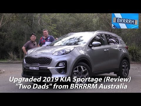 "2019 (Facelifted) KIA Sportage SUV (""Two Dads"" Review) 