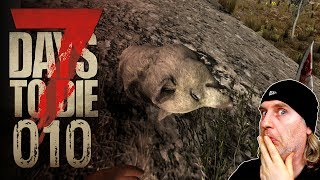🔨 7 Days to Die [010] [Endlich mal Schwein gehabt!] Let's Play Gameplay Deutsch German thumbnail
