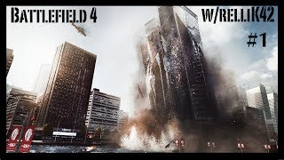 Battlefield 4 Xbox One: Conquest on Siege of Shanghai 32v32 Conquest