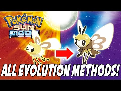 How To Evolve Every Single New Pokemon In Pokemon Sun And Moon! All Evolution Methods [Spoilers]