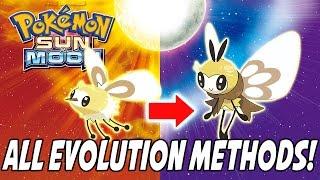 How Evolve Every Single New Pokemon Pokemon Sun And Moon All Evolution Methods Spoilers