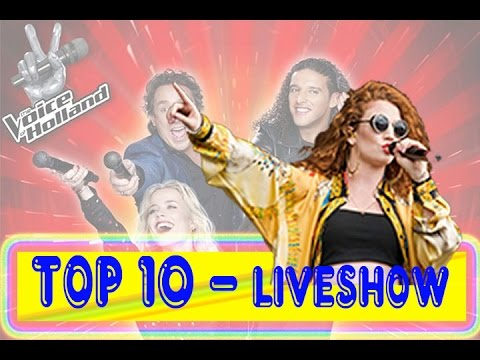 Top 10 - The Voice Holland 2015 2016 - Best Liveshow - Perform Audition