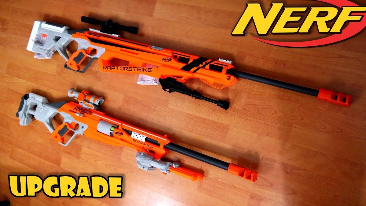 Nerf Raptorstrike SNIPER RIFLE Mod by TERIN