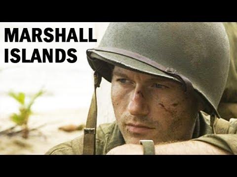 U.S. Marines Invade the Marshall Islands | World War 2 Newsreel | 1944
