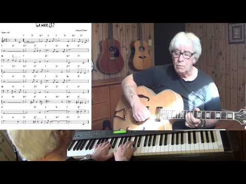 La mer - Beyond the Sea - Jazz guitar & piano cover ( Charles Trenet ) Yvan Jacques