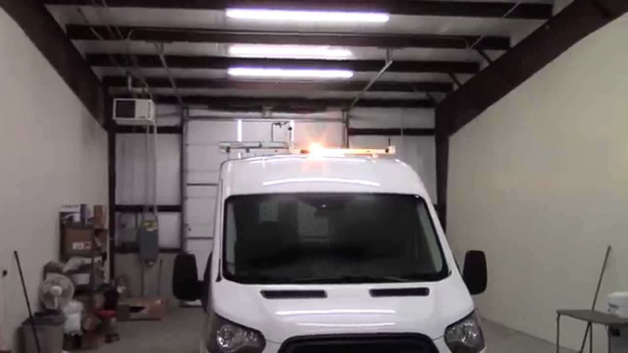 2015 Ford Transit Van Install Window Tint Micro Bar