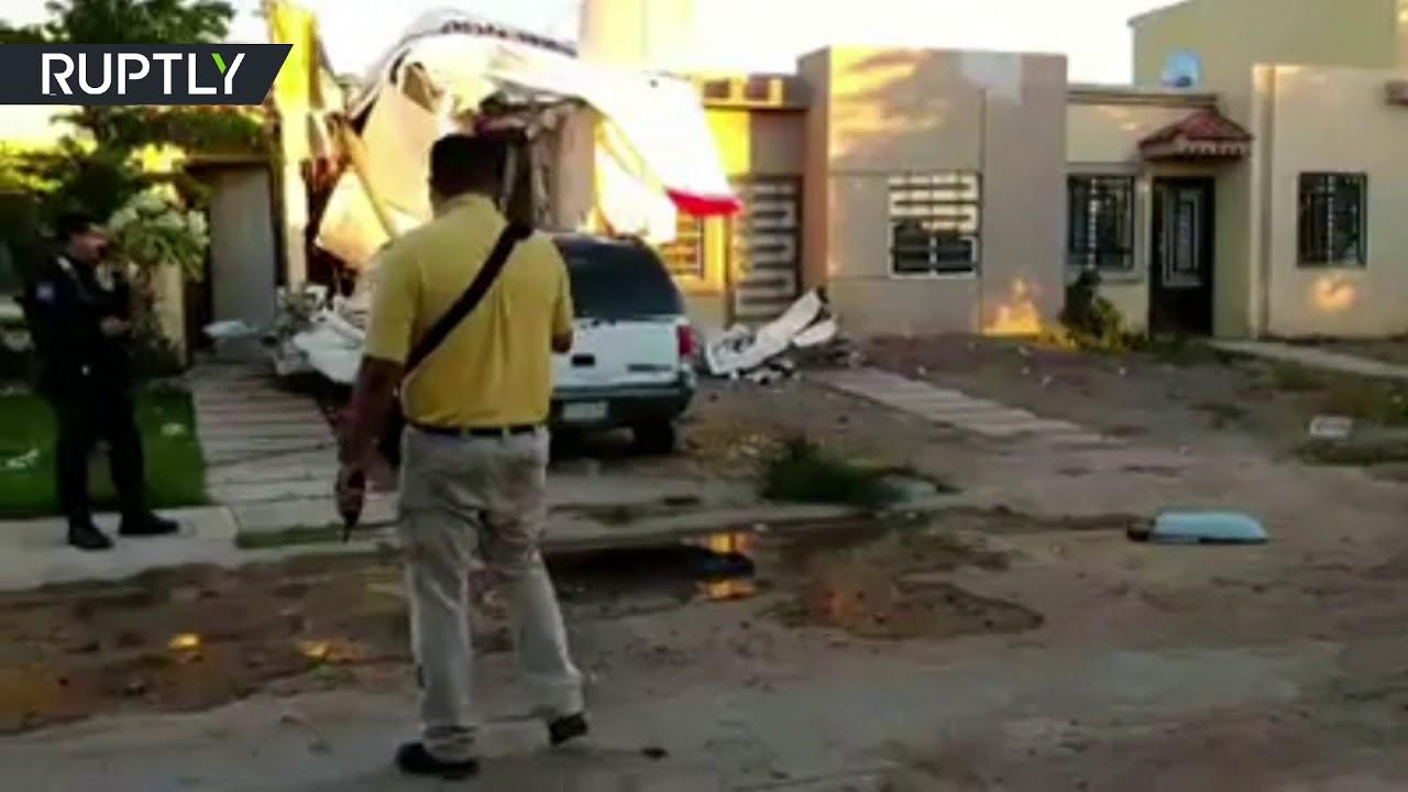 اصطدام طائرة ركاب صغيرة بمبنى سكني أودى بحياة 4 أشخاص