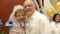 80-Year-Old Bride Weds for The First Time
