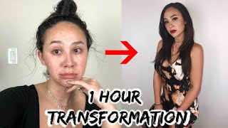 My 1 hour date night transformation