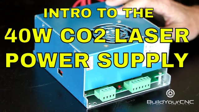 BuildYourCNC - 40 Watt Laser Tube Power Supply