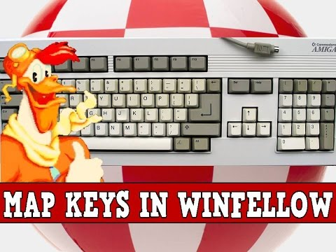 How To Map Keys And Swap Disks In WinFellow + General Tips
