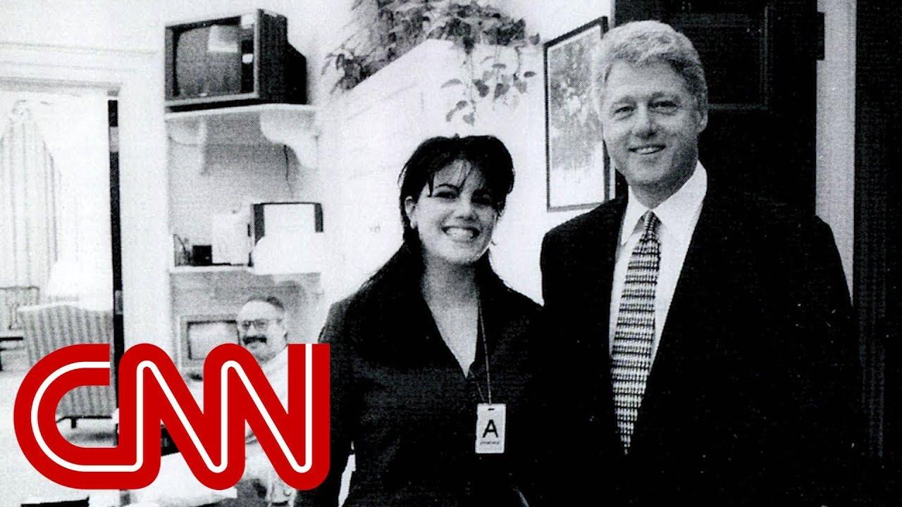 1998: Clinton-Lewinsky scandal breaks on CNN - YouTube