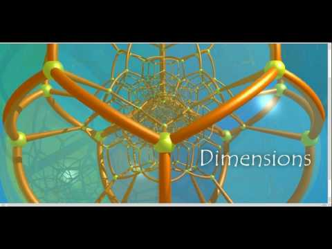 Time and Space as Shifting Higher-Dimensional Perspective of Peripheral and Central Awareness