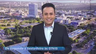 LUIZ BACCI APRESENTA LUCAS FERRAZ O NOVO APRESENTADOR DO BALANÇO GERAL NA RECORD TV TOCANTINS.