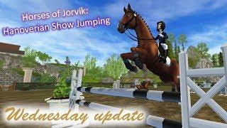 Star Stable Online; Wednesday update ~ Horses of Jorvik - Hanoverian Show Jumping