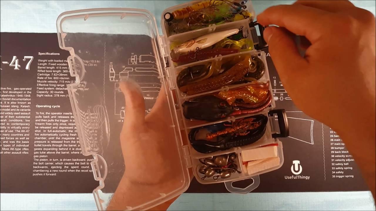 KAYAK FISHING TACKLE BOX HACK