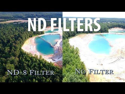 DJI Phantom 4 - Using ND FILTERS