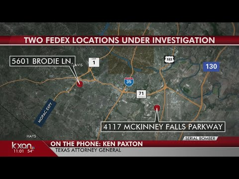 FULL VIDEO: Texas Attorney General Ken Paxton on Austin bombings