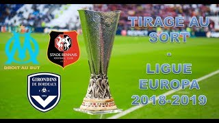Tirage au sort Europa League 2018-2019