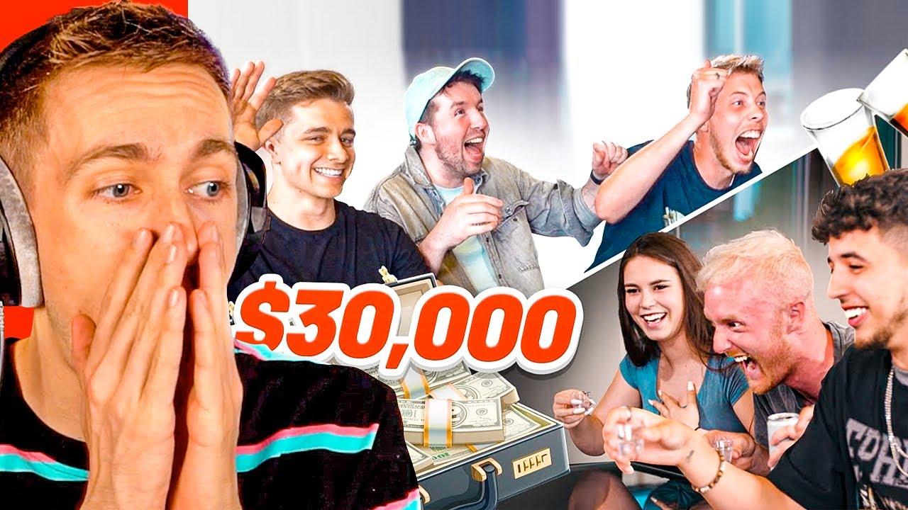 Reacting To $30,000 TikTok Drinking Game ft. Lauren Alexis, Freezy, ChrisMD…