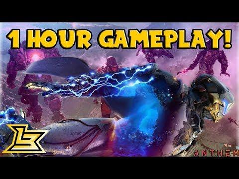 60 MINUTES OF ANTHEM OPEN WORLD GAMEPLAY! - Anthem Gameplay (Storm Javelin Gameplay)