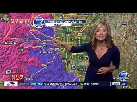 Monday 5:30 a.m. forecast