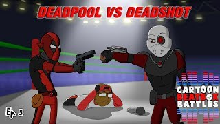Deadpool Vs Deadshot - Cartoon-Beatbox-Battles
