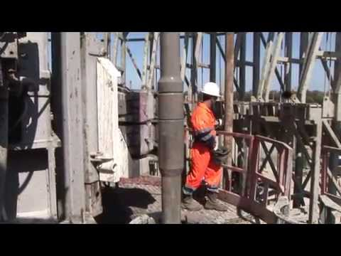 Oil and Gas Drilling Rig Preparation and Assembly