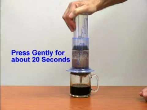 Aeropress Coffee Maker Movie : Aerobie Aeropress Coffee/Espresso Maker - YouTube