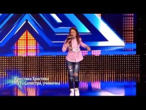 Христина Христова - The X Factor Bulgaria (25.09.2014)