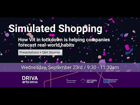 Simulated shopping - DRIVA arts DRIVA
