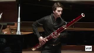 Theo Plath - Saint Saëns Bassoon Sonata in G, Op 168
