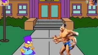 Bart VS Goro