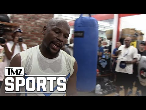 Floyd Mayweather: I Will Beat McGregor, Even If He Hurts Me! | TMZ Sports