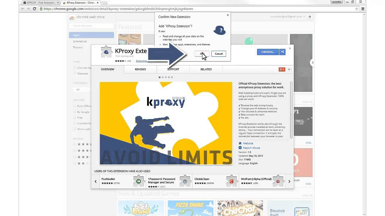 kproxy browser
