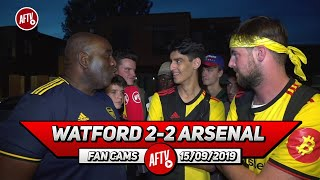 Watford 2-2 Arsenal | We Could Have Scored 4 or 5 Goals Today! (Watford Fans)