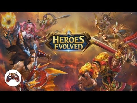 HEROES EVOLVED Android Gameplay