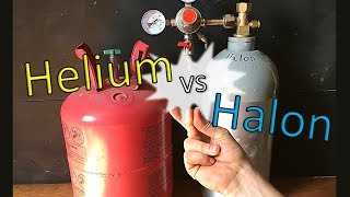 Sound of Snaps In Halon and Helium