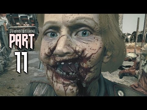 Wolfenstein The New Order Gameplay Walkthrough Part 11 - Camp Belica (PS4)