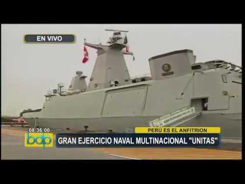 Canal 5: Gran Ejercicio Naval Multinacional Unitas 2017.