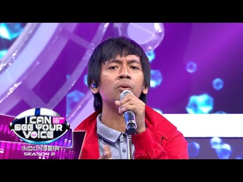 Melody JKT48 Sangat Menghayati Lagu D'Masiv  - I Can See Your Voice Indonesia (10/4)