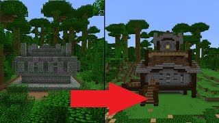 Let's Transform a Minecraft Jungle Temple(Don't go inside... I hated making this video, if I'm real. I had a hard time making this for various reasons and ended up taking much longer than it needed to., 2015-09-30T05:02:15.000Z)